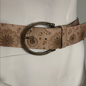 TANNER genuine leather Belt!